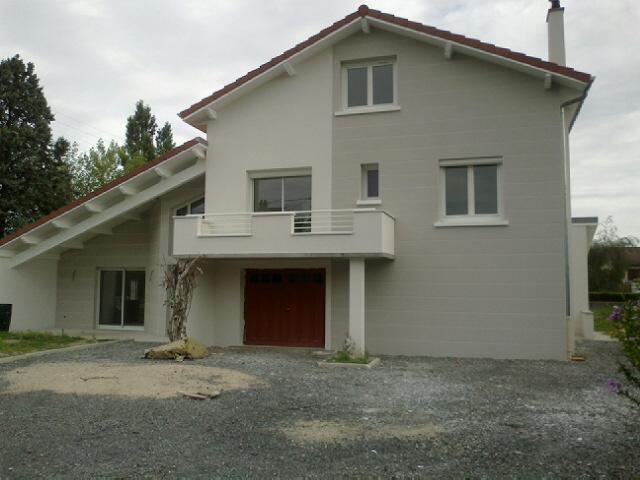 Rénovation et extension de maison à Veauche