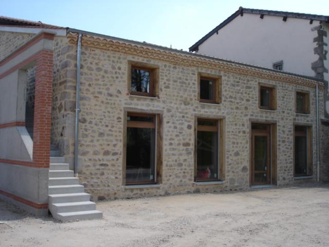 Renovation de batiment à St Marcellin en forez